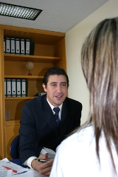 Linden AL paralegal working with attorney